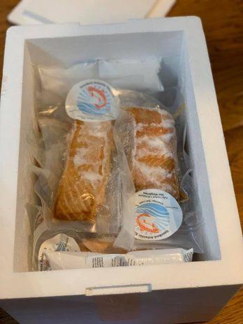Smoked Atlantic Salmon 18 ounce 3 pack (6 oz. ea.)
