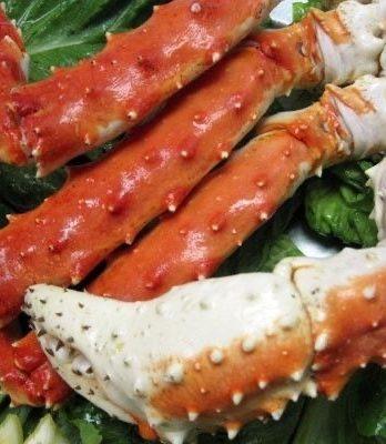 Alaskan King Crab Legs 2 pounds